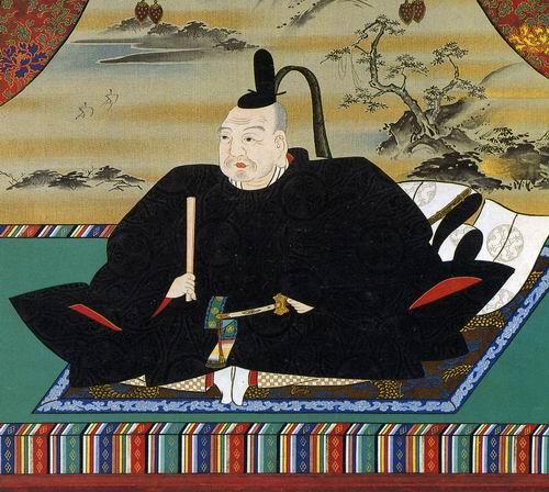 Ранний посмертный портрет Иэясу. Так он, вероятно, выглядел на склоне лет.
