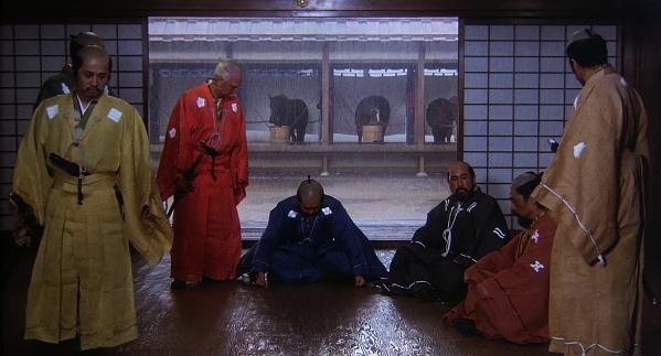 Кадр из фильма Кагэмуся режиссера Акира Куросава, 1980 г.