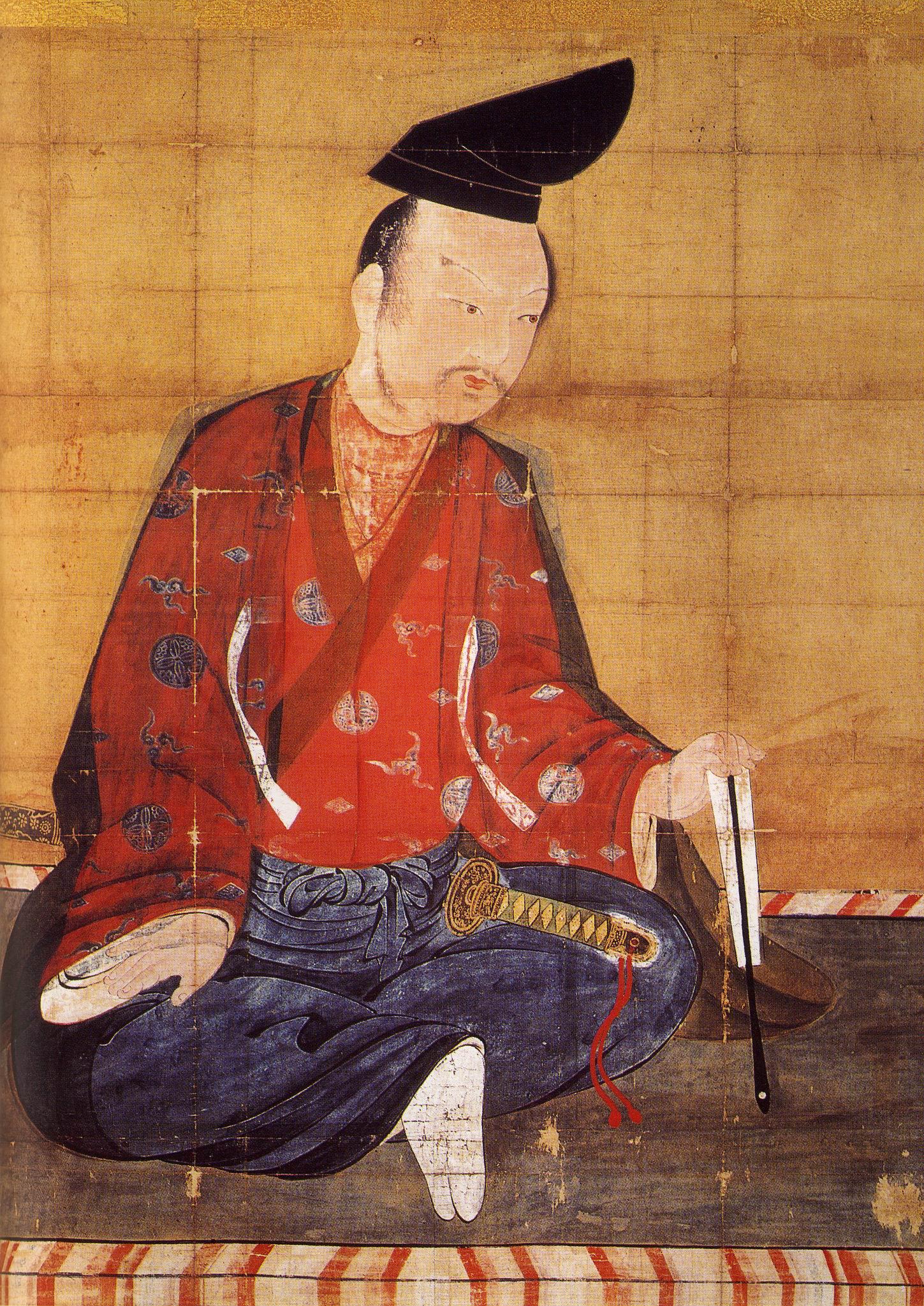 Минамото-но Ёсицунэ, картина XIX века