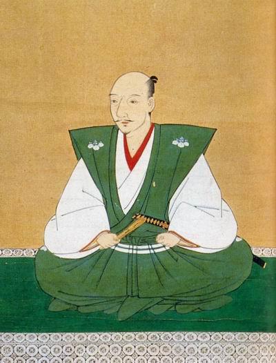 Портрет Ода Нобунага работы Кано Морохидэ, созданный, как считается, вскоре после смерти Нобунага в 1582 г.