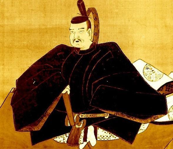Портрет Тайра-но Масакадо из храма Цукудо. Дата создания неизвестна, но судя по стилю, не ранее XVII в. Прижизненных портретов Масакадо не сохранилось.